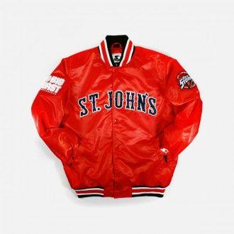 Starter Big East Satin Jacket (St. John s)  37ccf6908