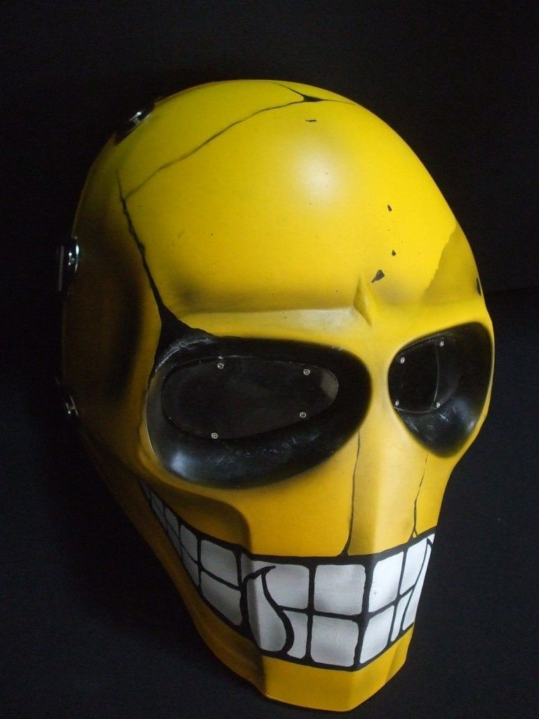Details about ONIMARU ARMY OF TWO MASK PAINTBALL AIRSOFT HELMET ...