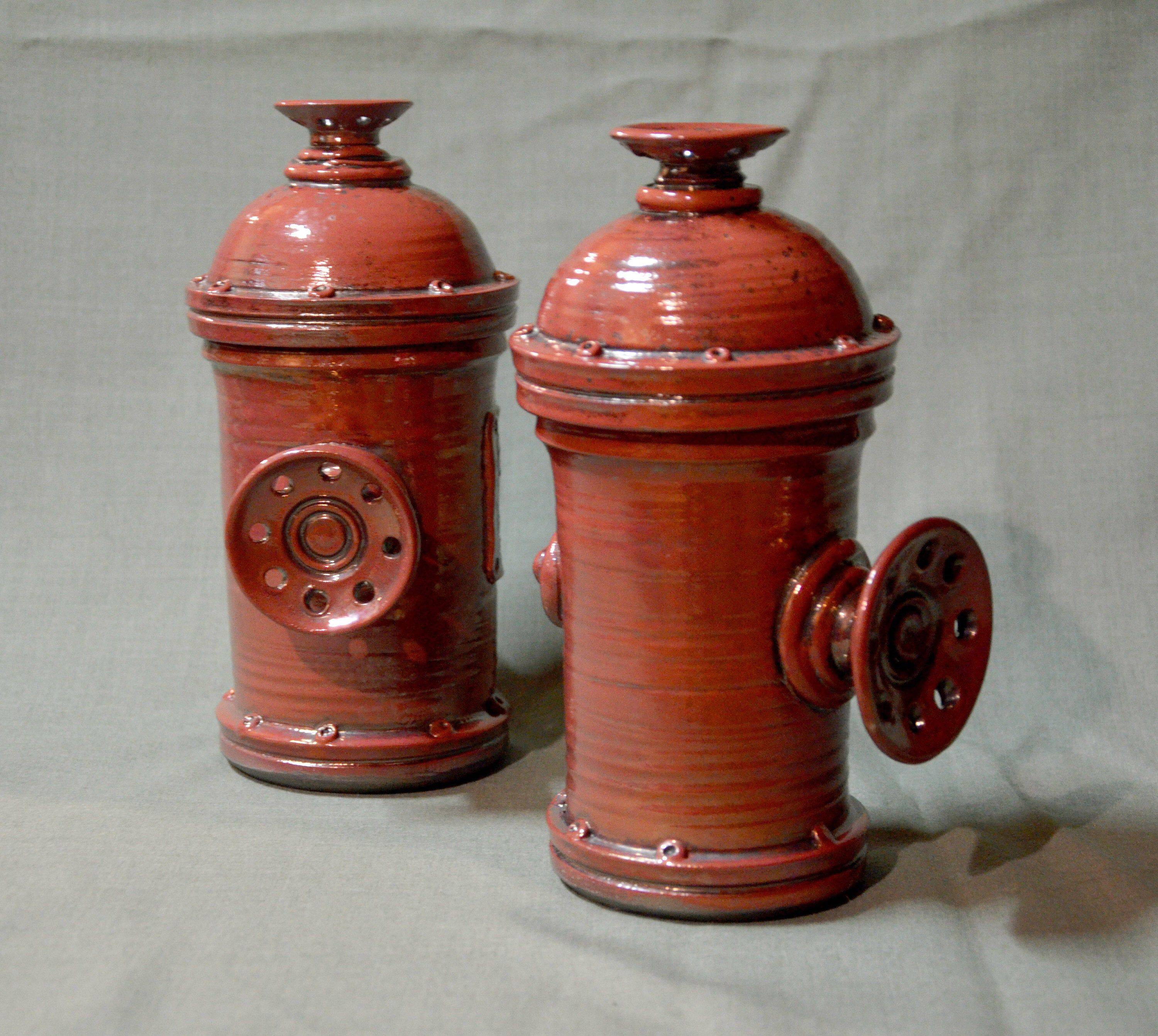 Excited to share this item from my #etsy shop: Gift for a Firefighter, Beer Mug, Red, fire Hydrant, Handmade, Pottery, for fireman, friend gift, free shipping #potterymug #art #ceramicmug #potteryart #beer #giftforher #momgift #redmug #housewarming