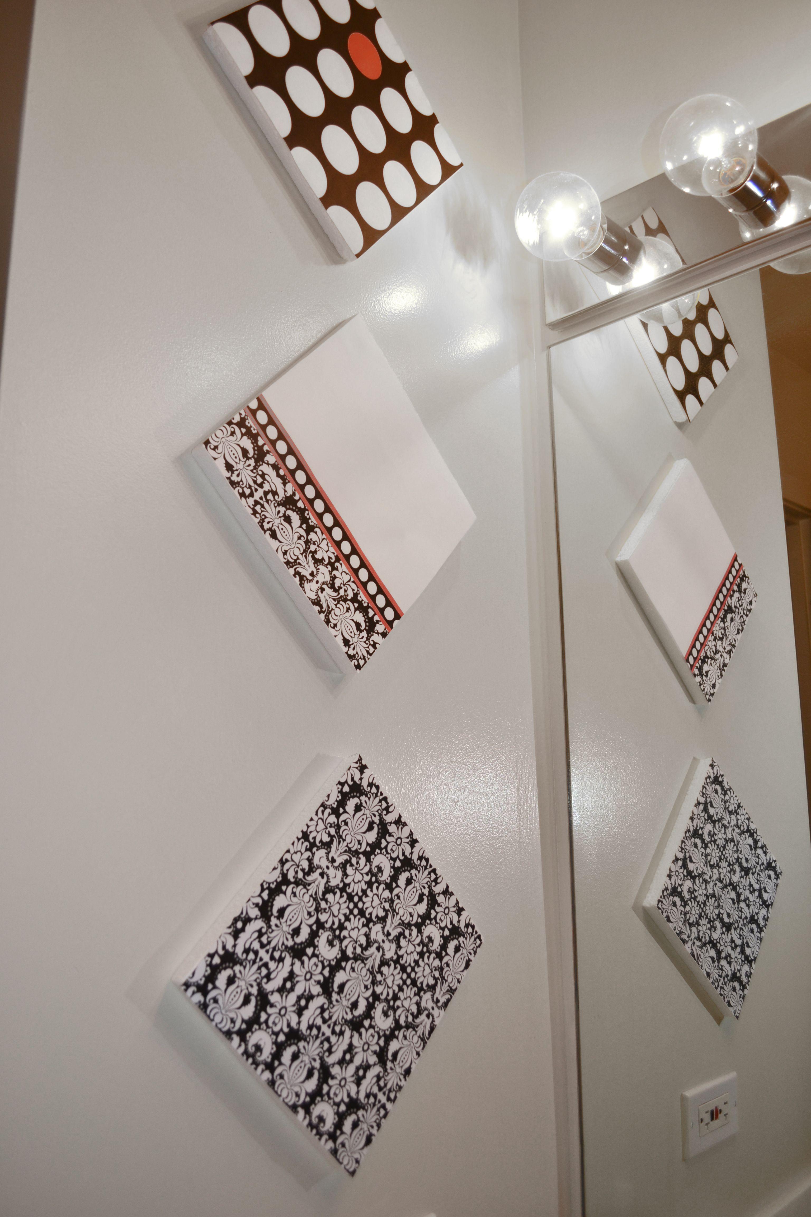 Diy Bathroom Decor My 3rd Diy Project All You Need Is A