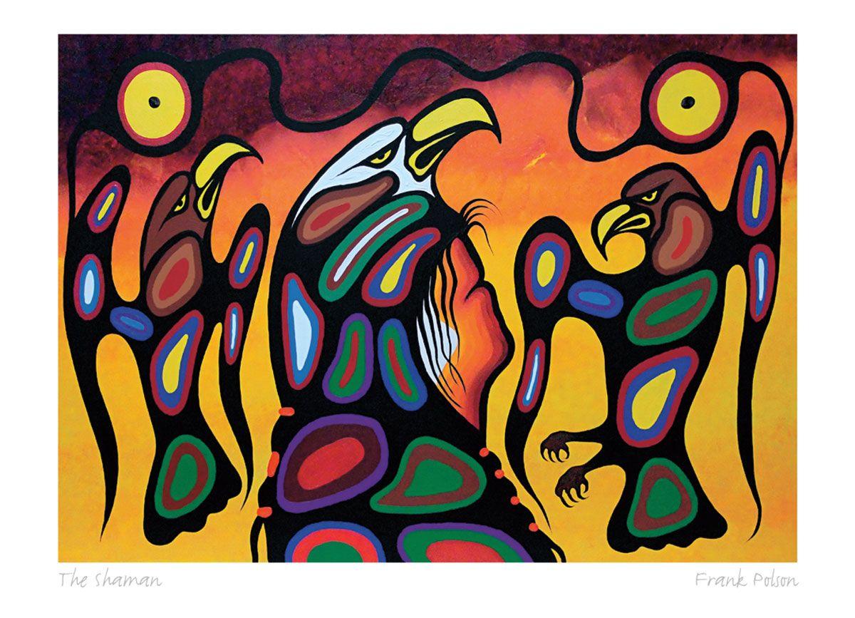 The Shaman Frank Polson Native American Art Native Art