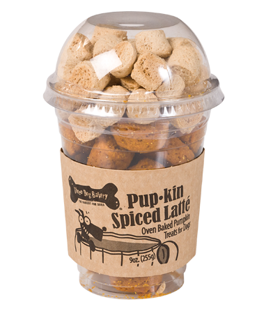 Pup-kin Spiced Latté - Christmas Gift for Dogs| Three Dog Bakery