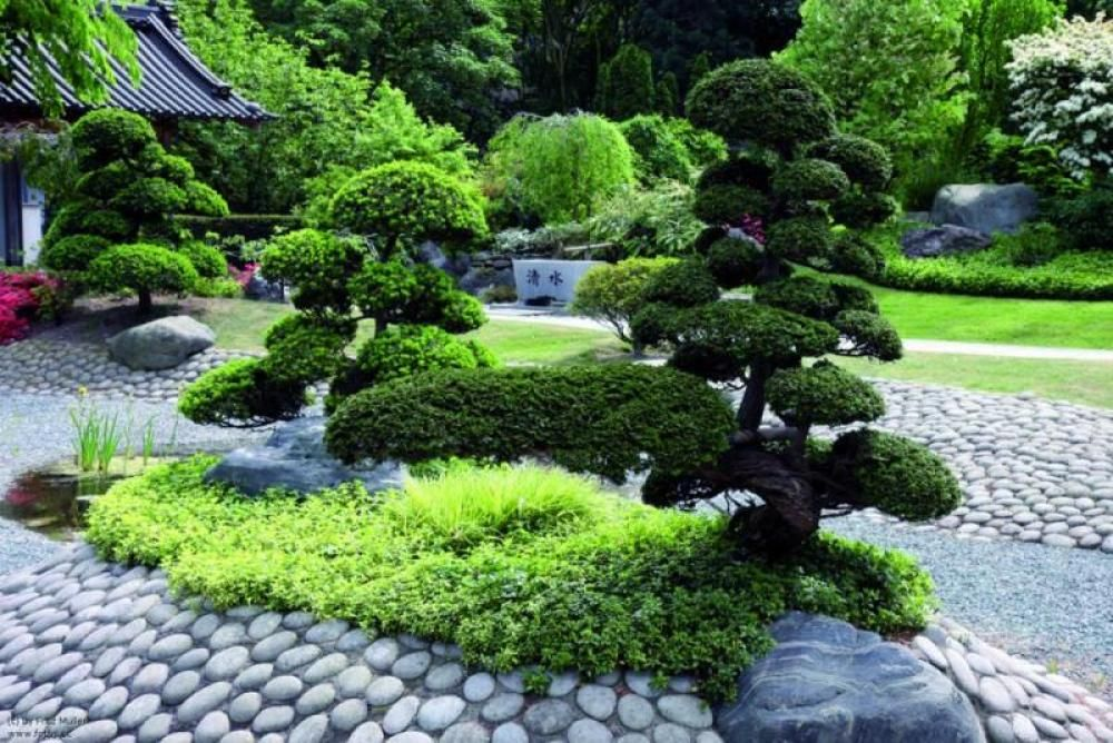 Japanischer Garten Garten Pinterest Garten - chinesischer garten brucke