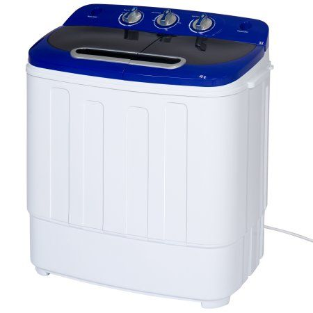 95 At Walmart Free Shipping Buy Best Choice Products Portable Compact Mini Twin Tub Washing Ma Portable Washer And Dryer Mini Washing Machine Portable Washer