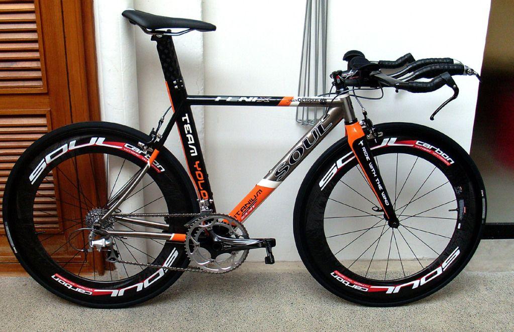 The Soul Bikes Titanium Tt Machine The Fenix With Soul 8 0 Carbon