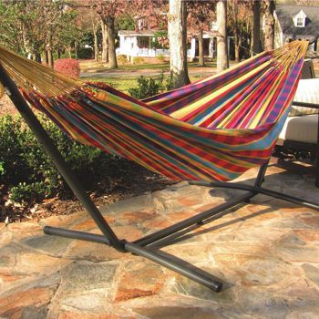 Double Hammock With Stand Costco 130 Double Hammock
