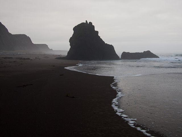 That serenity >> Rocks, Irish Beach, California by myelectricsheep, via Flickr