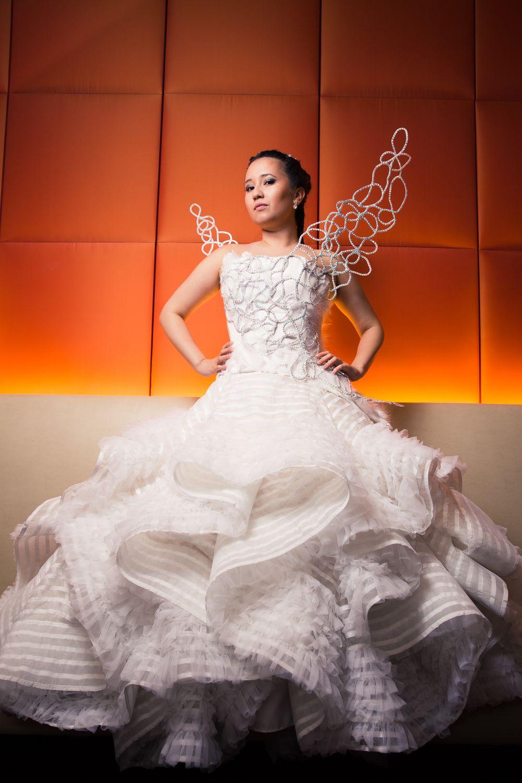 Katniss Everdeen Wedding Dress Cosplay Sewing In 2019 Katniss