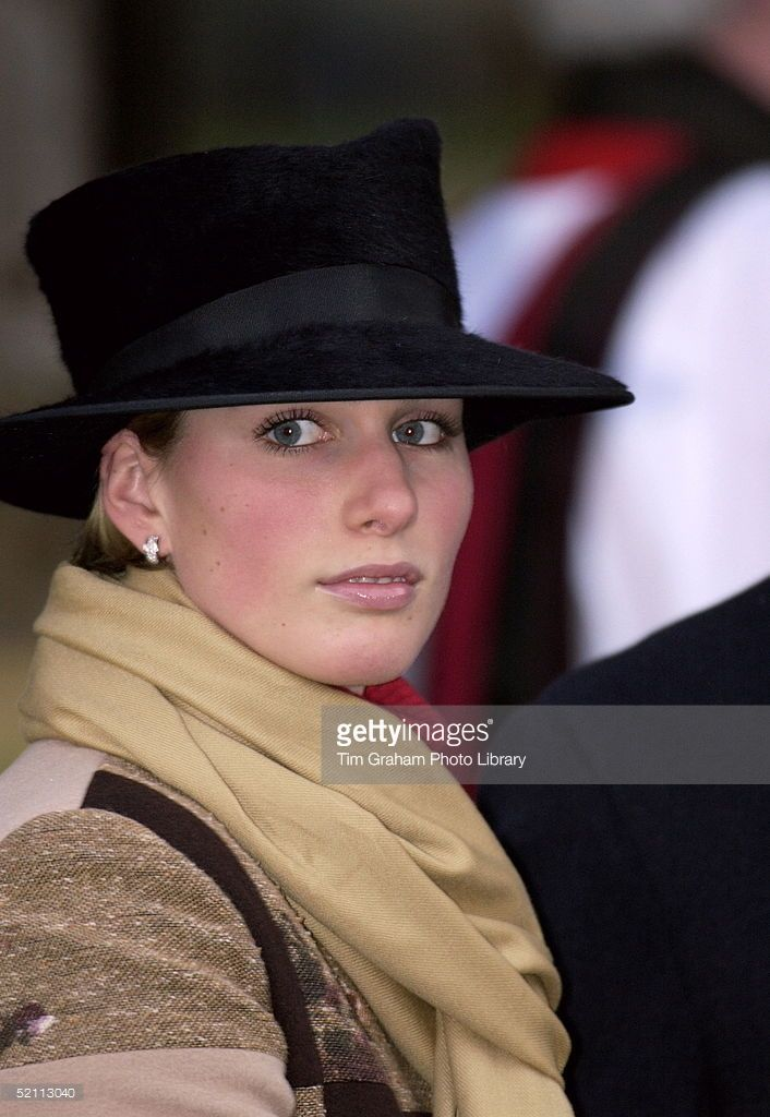 Zara Phillips, December 25, 2001