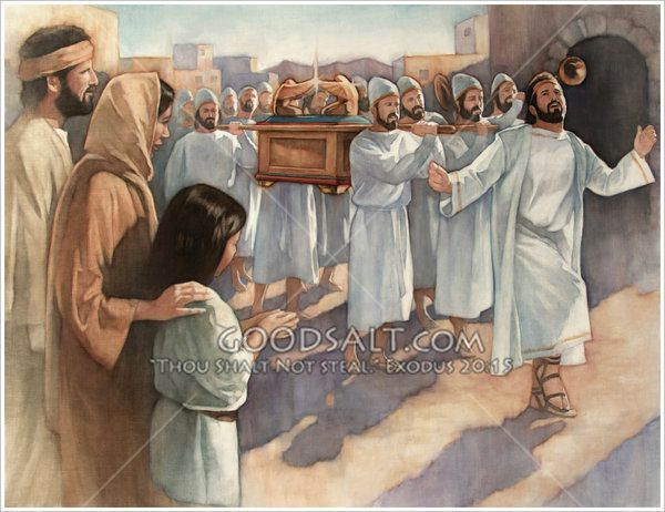 David is leading the Levites in a parade as they carry the Ark of - fresh apprendre blueprint ark