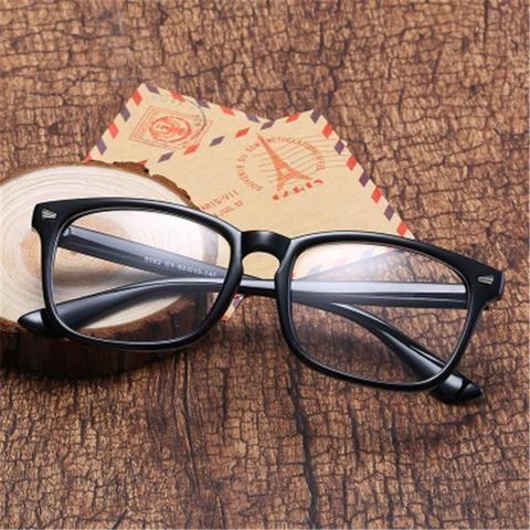 7f228c5bb9 Fashion black Square For Women Transparent Glasses Spectacle Frames Mens  Computer Eyeglassesmodlilj