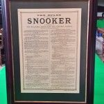 Antique Snooker Prints Pictures And Rules | Browns Antiques Billiards and Interiors.
