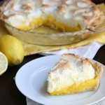 Low Carb Lemon Meringue Pie #lemonmeringuepie