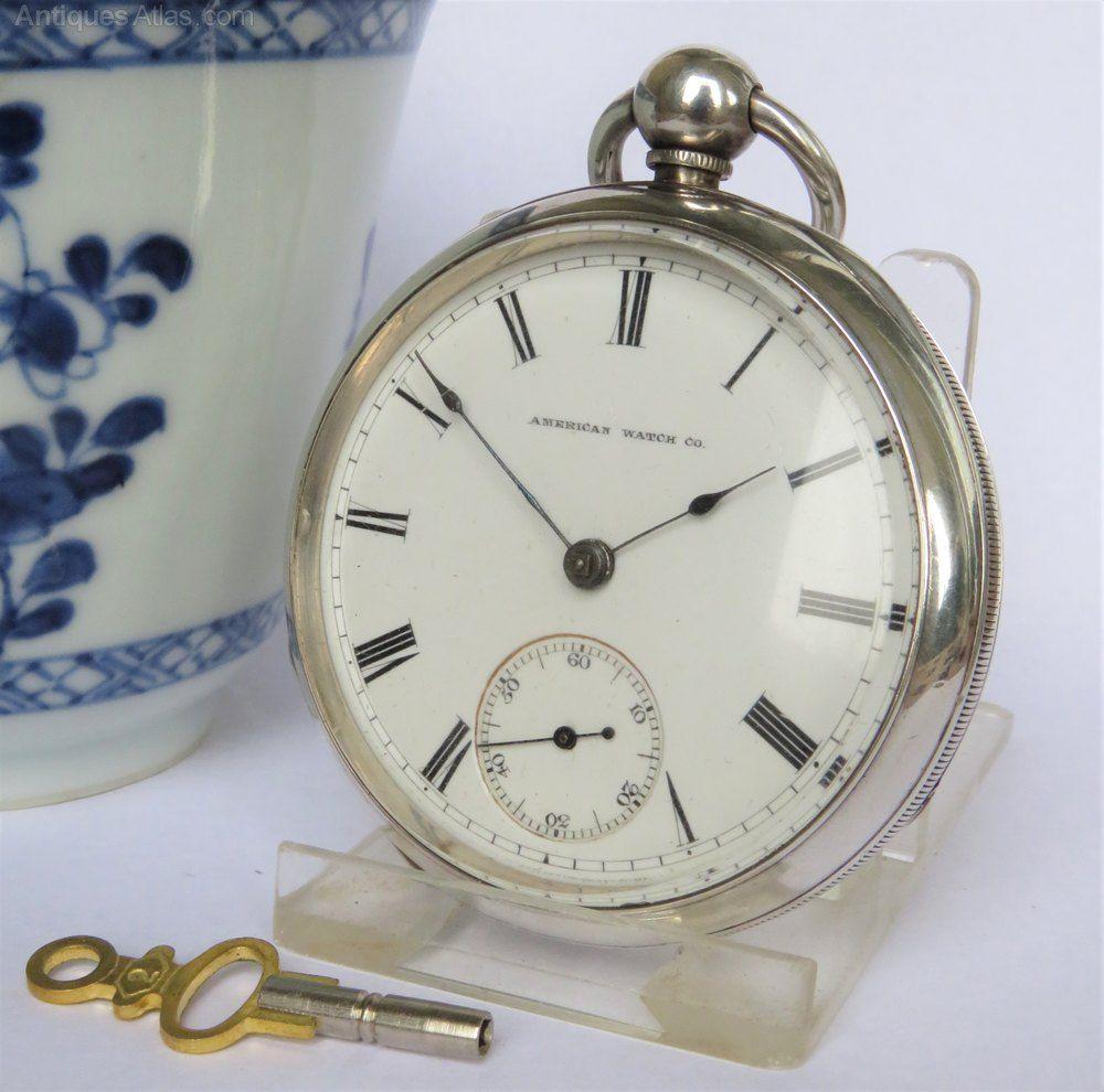 cfcd358d53f Antiques Atlas - Antique Silver Waltham Pocket Watch