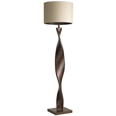Pier 1 Floor Lamps Custom Brown Twist Floor Lamp  Floor Lamp Woods And Living Rooms Inspiration Design