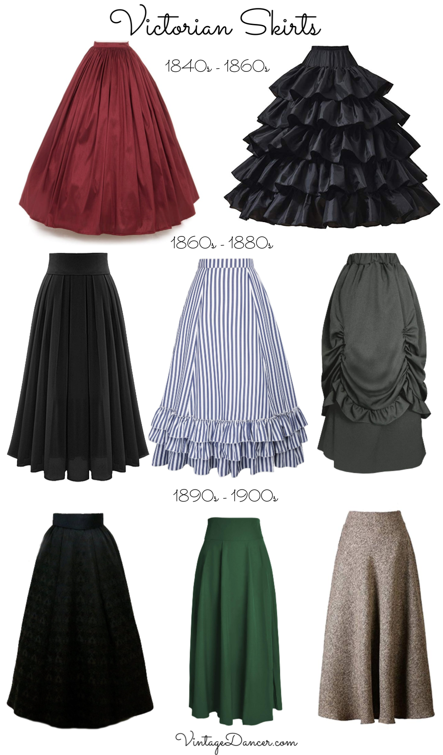 Photo of Make an Easy Victorian Costume Dress with a Skirt and Blouse