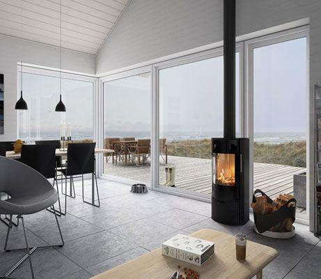Tisvilde Architect Modern Houses Google Search Wood Burning Stove Corner Freestanding Fireplace Wood Burning Stove Decor