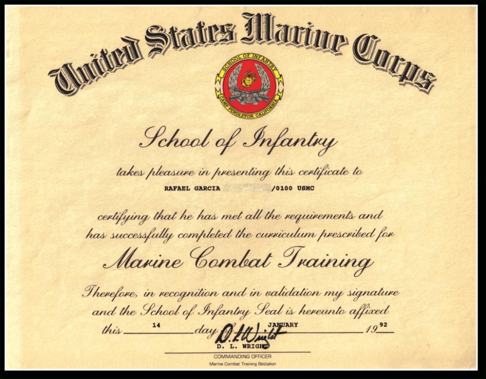 Certificate Of Appreciation Usmc Sansurabionetassociats Within Officer Promoti Certificate Of Appreciation Graduation Certificate Template Certificate Template