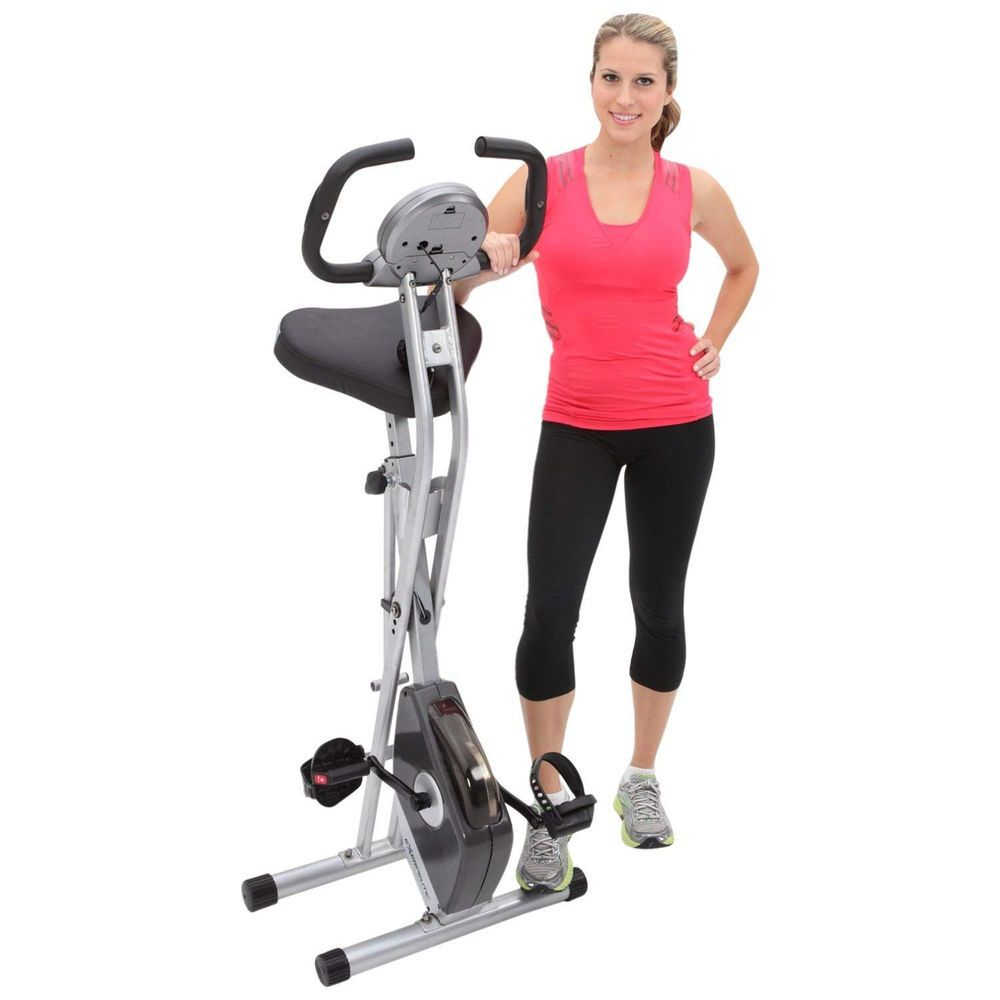 Exerpeutic 250XL Folding Magnetic Upright Bike with Pulse Monitoring (eBay  Link) ca9742e078d51