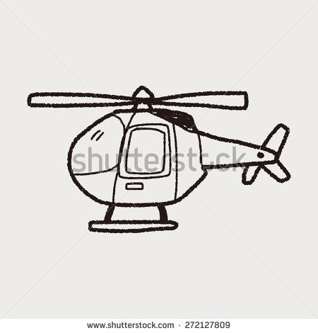 Helicopter Doodle Helicopter Army Drawing Doodles