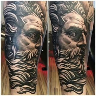 Aries God Of War Tattoo Pinterest Tatouage Tatouage Homme And