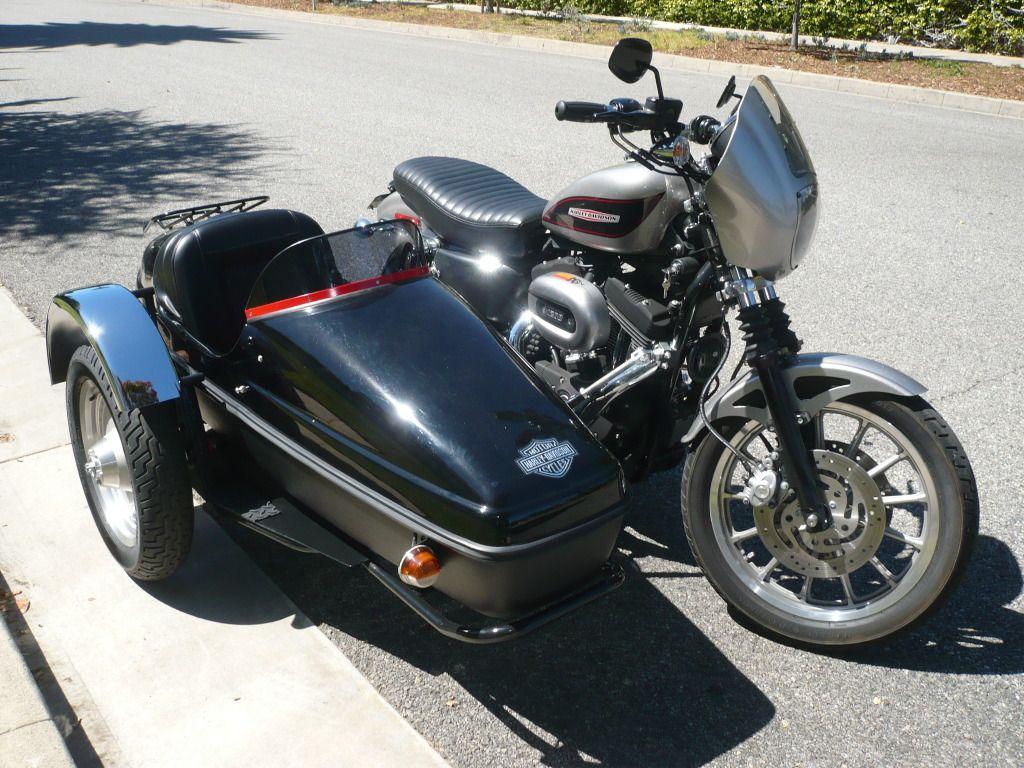Custom Velorex 562 Sidecar for Sportster Harley Davidson
