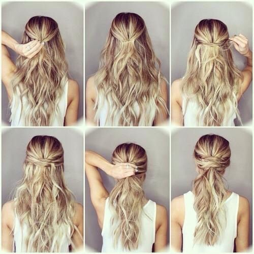 Cute Hair Styles And How To Do Them Easy Hairstyles Step By Step Hairstyles Medium Hair Styles