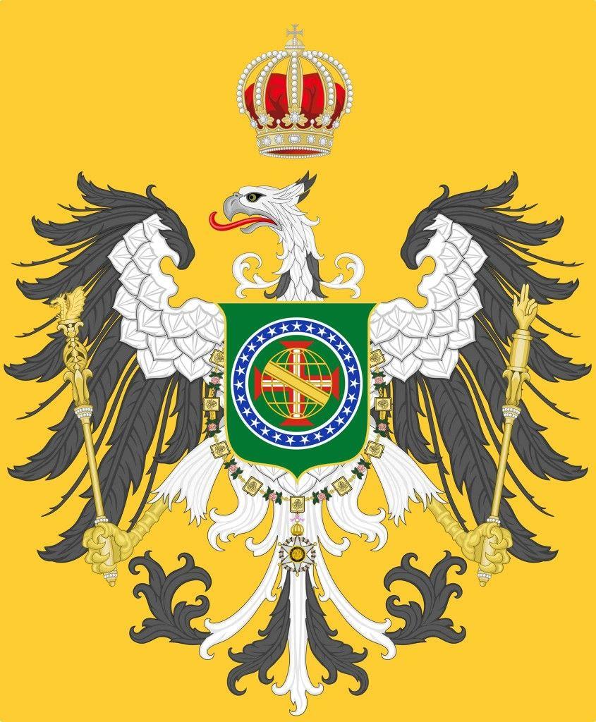 Ideia Para Brasao De Armas Do Terceiro Reinado Imperio Do Brasil