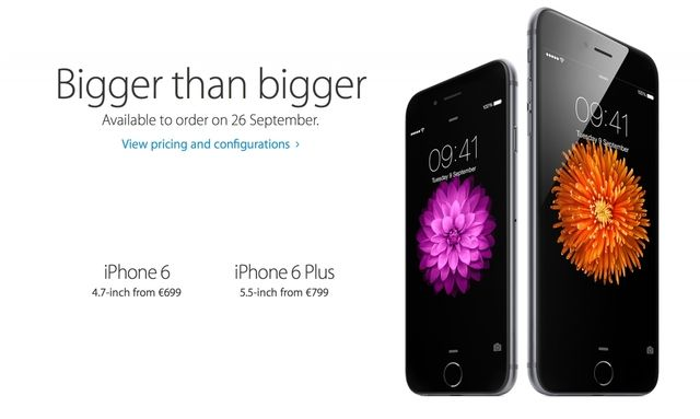 Apple iPhone 6 and iPhone 6 Plus Will Be Available to Order in More Countries on September 26th - http://iClarified.com/43823 - Apple has revealed that the iPhone 6 and iPhone 6 Plus will be available to order in at least 17 more countries on September 26th.