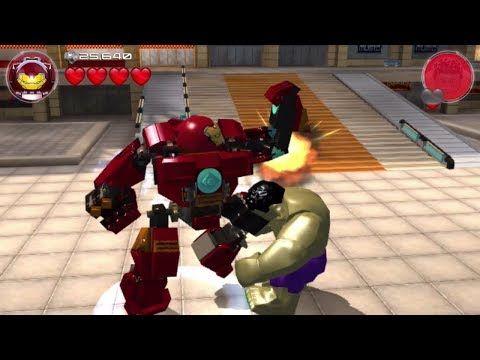 Lego Marvel 39 S Avengers Iron Man Free Roam Gameplay Hd 1080p Youtube Lego Marvel Hulk Vs Hulkbuster Avengers