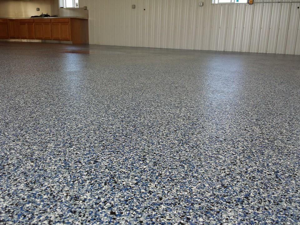 Great Denim Polyaspartic Floor Sealed. Floor Coatings