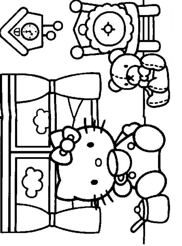 tegninger til print hello kitty - Google-søgning | Coloring Pages ...