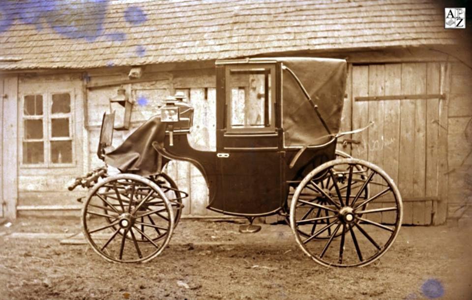 1924r-powóz Fajeton z Fabryki Braci Kabasów w Zamościu