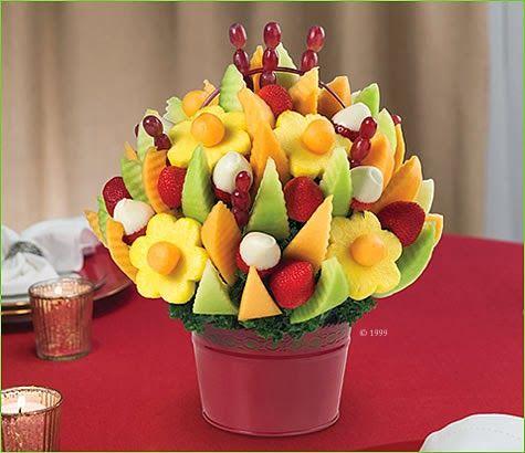 Diseño de Frutas para Fiestas Infantiles - Bocadillos