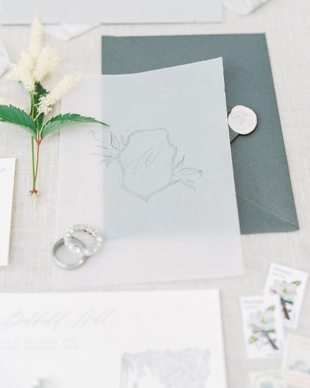 Vellum Wedding Invitations Stationery Oh Honey Paper Co Photo