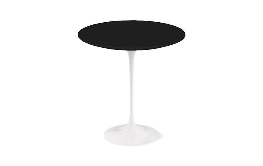 Knoll Saarinen Side Table Black At Dwr In 2020 Saarinen Table