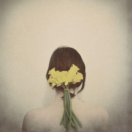 Flowers In Her Hair by Elle Moss