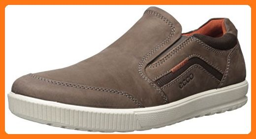 ECCO Men's Ennio Fashion Sneaker, CoffeeCoffee, 44 EU 10