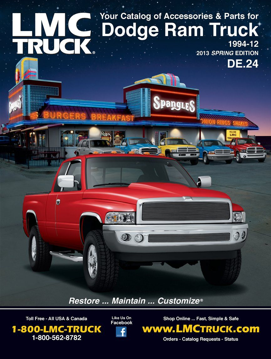Free Catalogs For Chevy Gmc Ford And Dodge Trucks Lmc Truck >> Lmc Truck Parts And Truck Accessories Ram Jam Truck Accessories