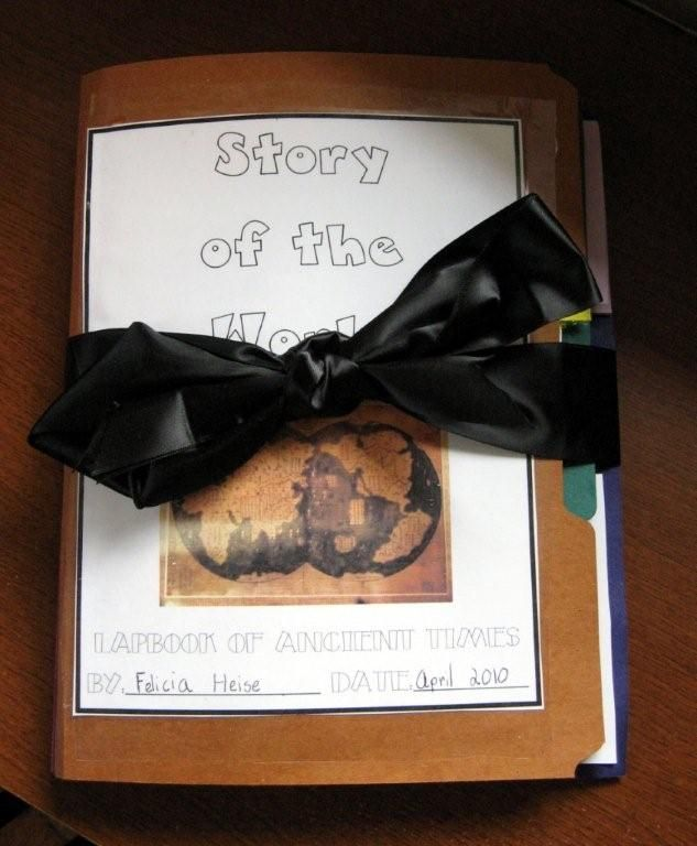 afe8cca19716 story of the world lapbook and it is free!!! Lots of great stuff that  corresponds to CC History!