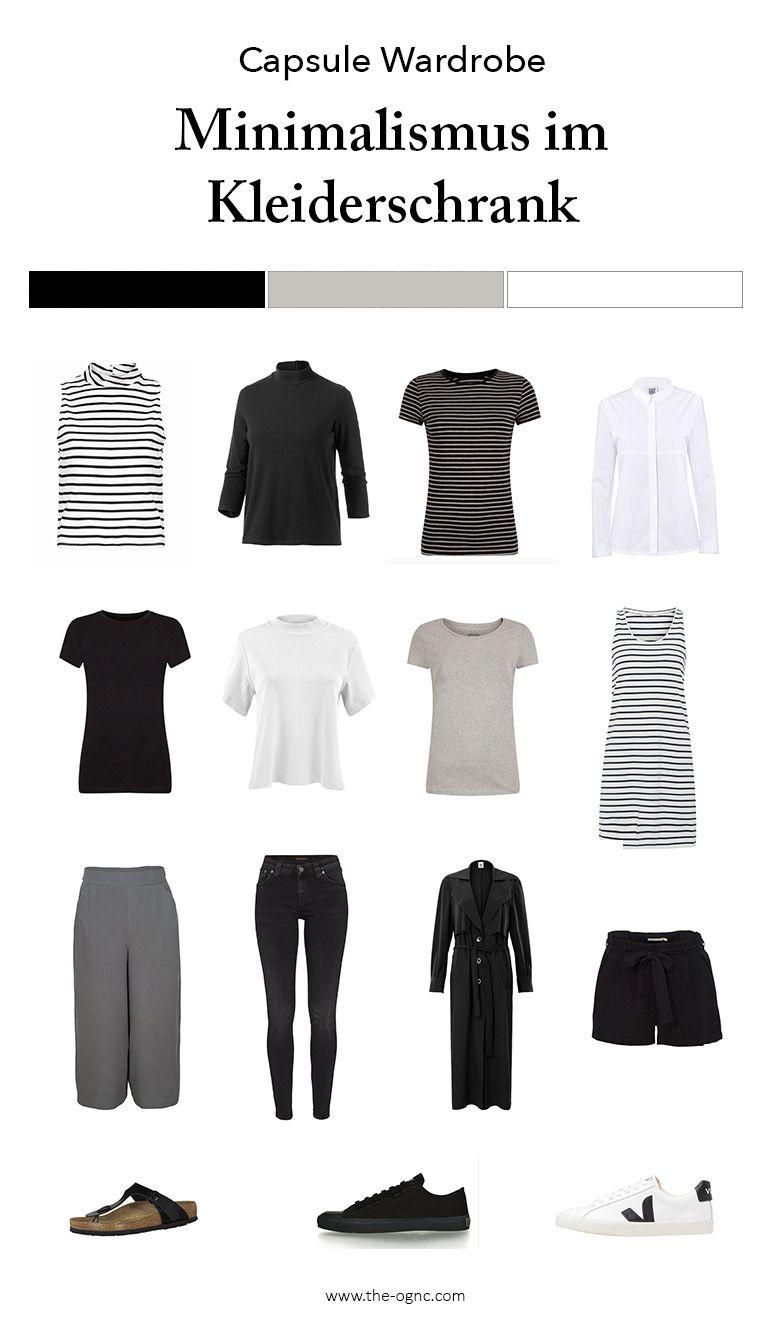 minimalismus im kleiderschrank capsule wardrobe x fair fashion capsule wardrobe tips. Black Bedroom Furniture Sets. Home Design Ideas