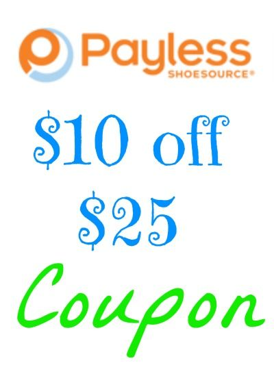 there is a hot in store payless coupon for 10 off 25 and a payless coupon code