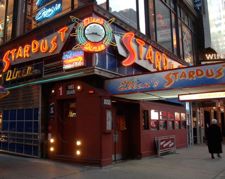 Ellen's Stardust Diner Diner nyc, Restaurant new york