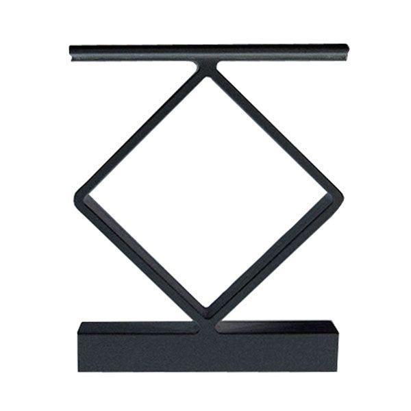 Best Peak Aluminum Railing Black Aluminum Decorative Handrail 400 x 300