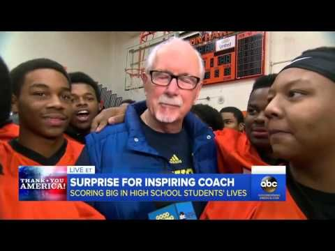 Inspiring Football Coach and Team Get Epic Surprise - YouTube