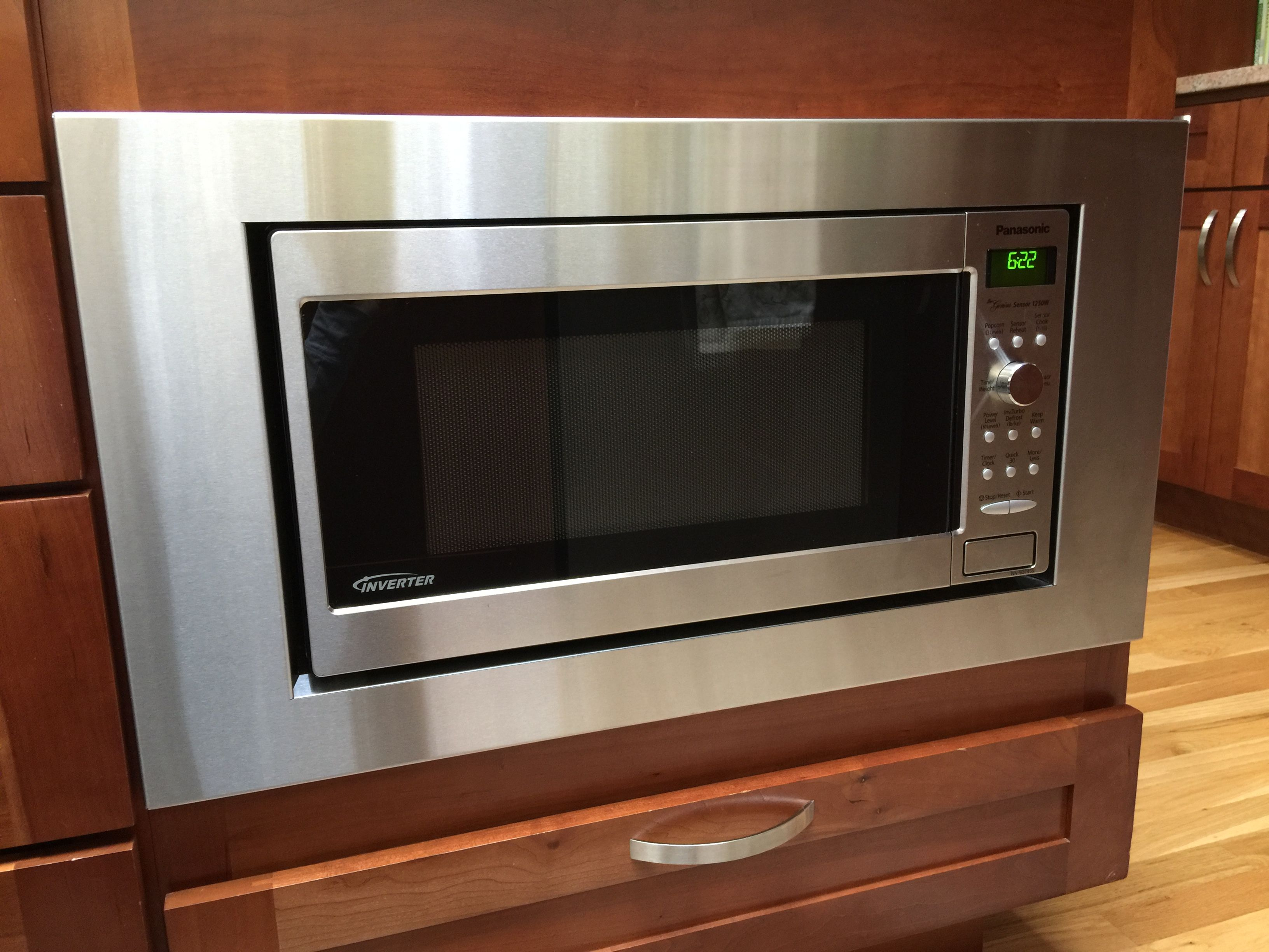 Attractive Custom Trim Kit For A Panasonic Microwave, Model # NN SD745S