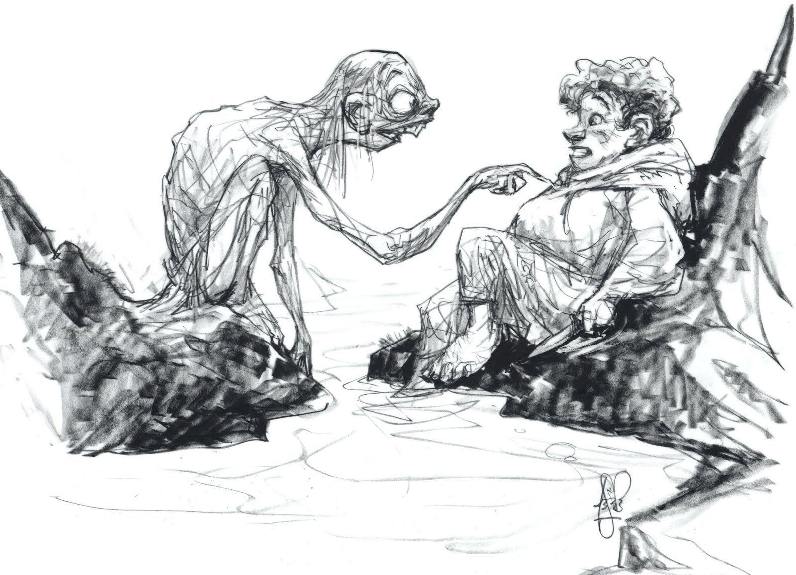Line Drawing Yoda : Best peter de seve images figure drawings
