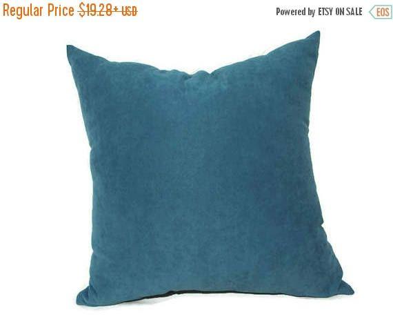 20% off Dark Turquoise Velvet Pillow Turquoise Velvet Pillow
