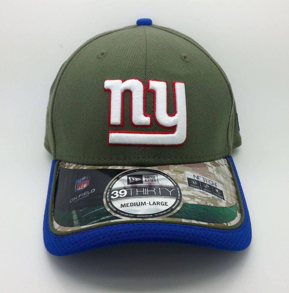 858a2b16c5e NEW YORK GIANTS NFL NEW ERA 39 THIRTY SALUTE TO SERVICE HAT CAP (M L) -- NEW   NEWERA39THIRTY  NewYorkGiants