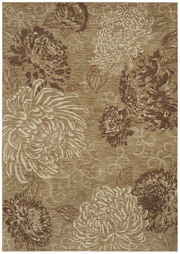 Hgtv Home Flooring By Shaw Area Rug Vintage Bloom Color